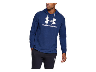 UNDER ARMOUR SPORTSTYLE TERRY LOGO HOODIE 1348520-409